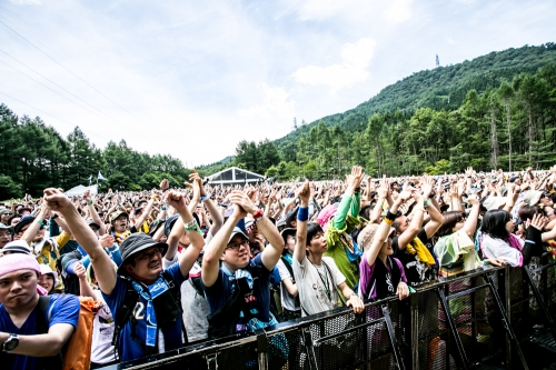 White Stage, Fuji Rock